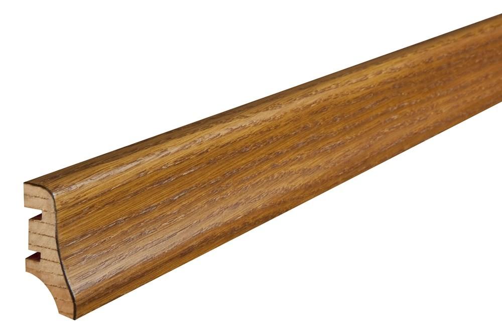 Плінтус підлоговий Дуб антік, лак, 40х20х2200 мм