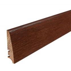 Плінтус підлоговий Мербау, лак, 78х18х2200 мм