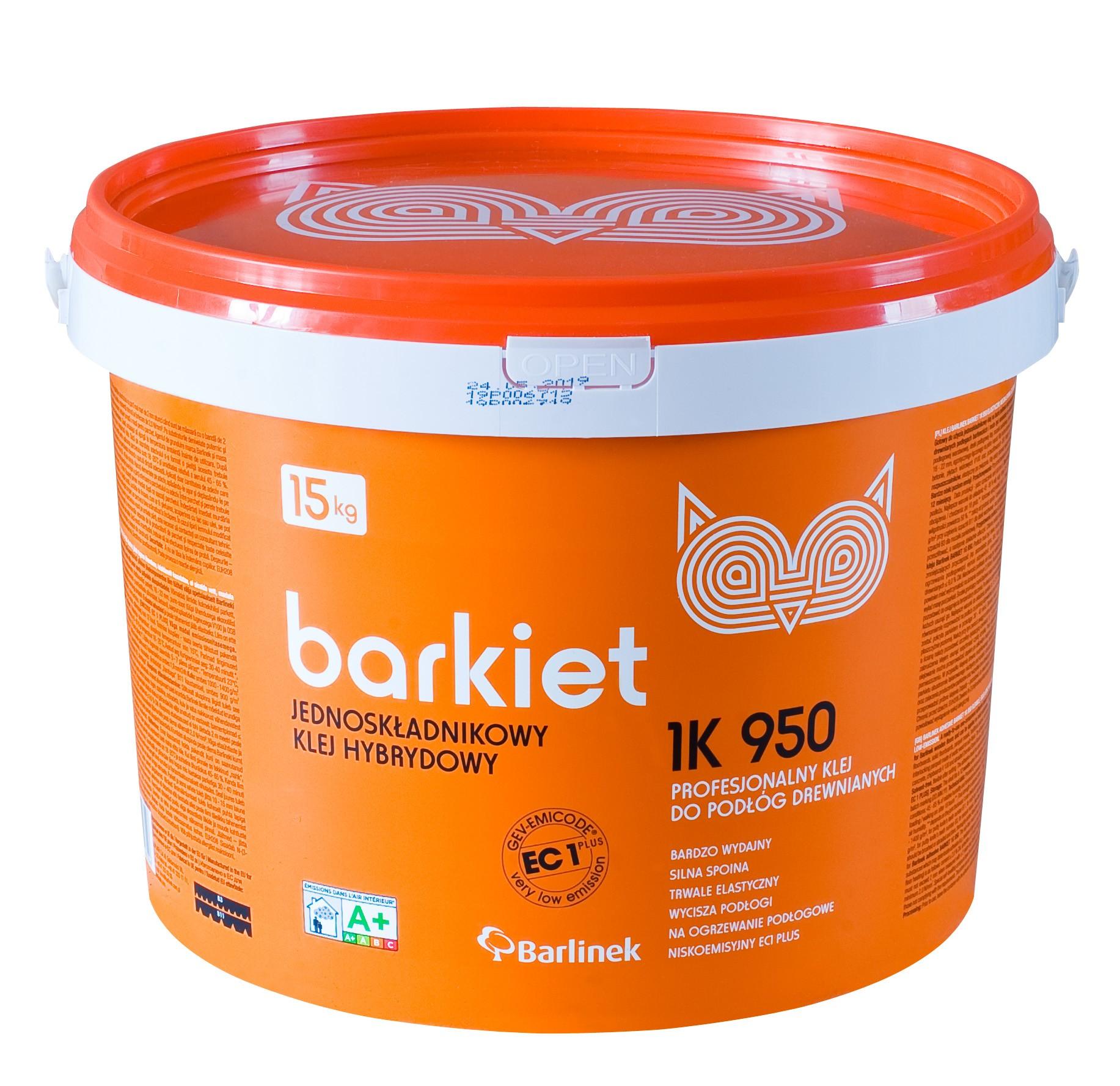 Клей полімерний для паркетоної дошки Barlinek, 15 кг